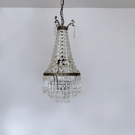 Small Continental Tent and Waterfall Chandelier