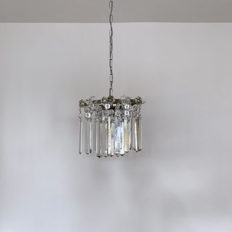 Early 1900s Crystal Chandelier