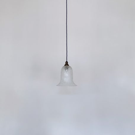 Frosted Etched Bell Shade