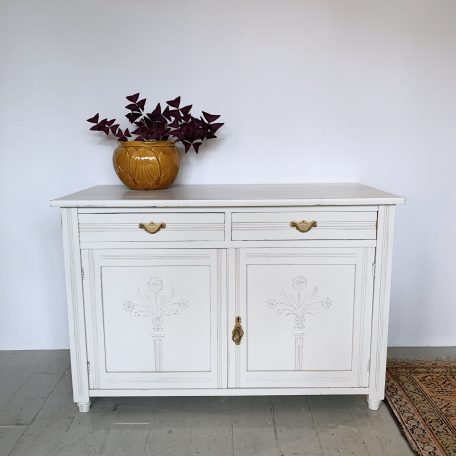 Painted Sideboard with Two Drawers